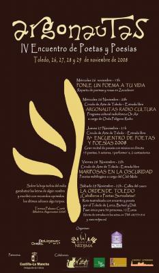 """IV ENCUENTRO DE POETAS Y POESÍA """"ARGONAUTAS 2008"""""""