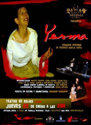 YERMA,  de Federico García Lorca